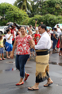 State Representative (and PCC alumnus) Richard Fale from Hauula; Polynesian Cultural Center photo by Mike Foley
