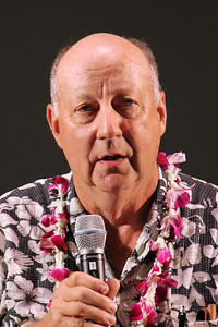 Elder Bob Phillips, a currently serving senior missionary; Polynesian Cultural Center photo by Mike Foley