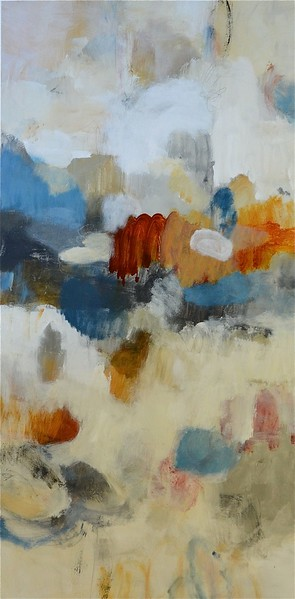 Rhythm & Rhyme II-Ridgers, 30x60 painting on canvas