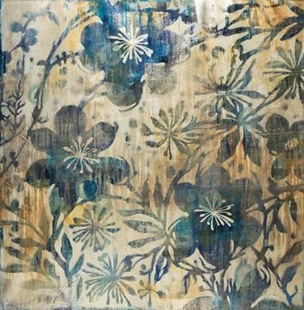 Daisy Chain-Jardine, 40x40 on canvas