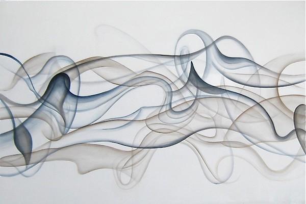 """Liquid Dance""-Jardine, 40x60 on canvas-D"