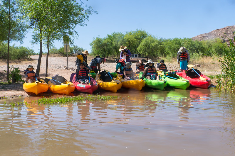 Verde River Institute Float Trip, Tapco to Tuzi, 5/14/18