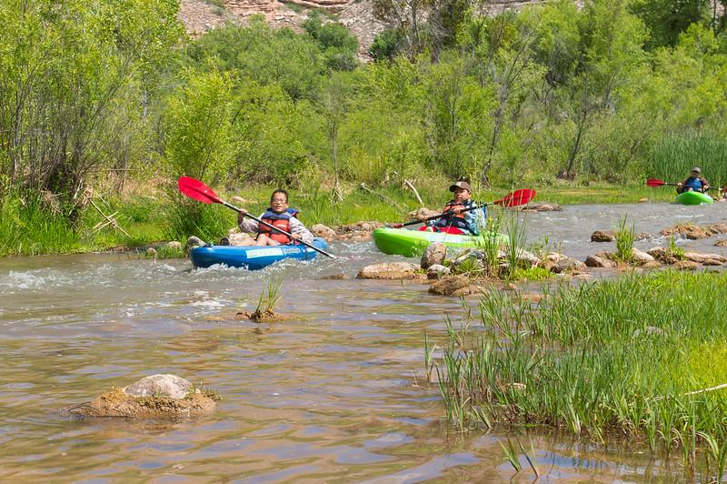 Verde River Institute Float Trip, Tapco to Tuzi, 5/17/17