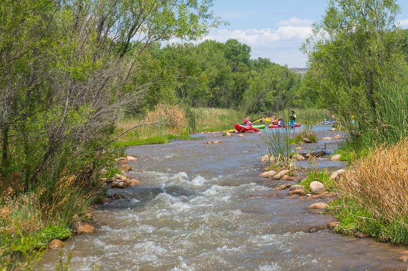 Verde River Institute Float Trip, Tapco to Tuzi, 5/19/18