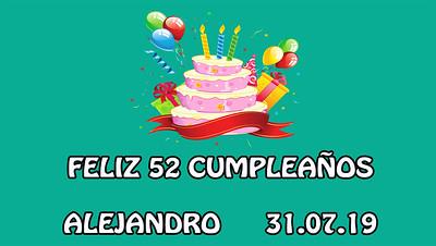 52 Cumpleaños Alejandro