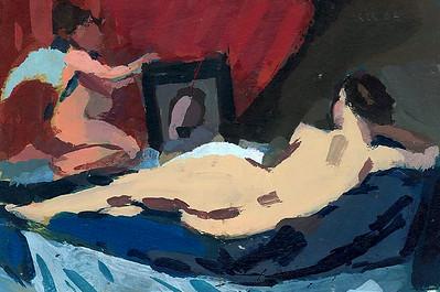 Venus at Her Mirror (after Velazquez)