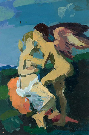 Amor and Psyche (after Gerald)