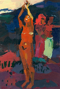 The Invocation (after Gauguin)