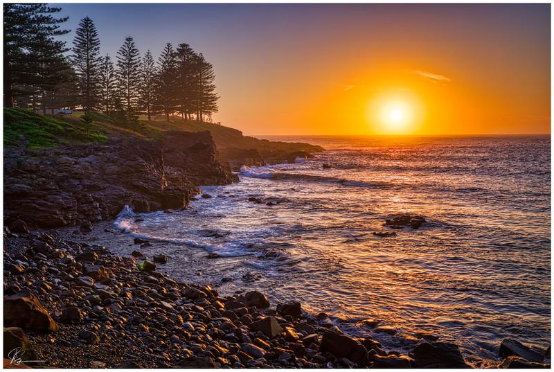 Sunrise at Storm Bay....