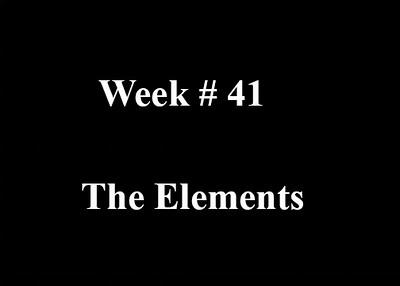 Week #41