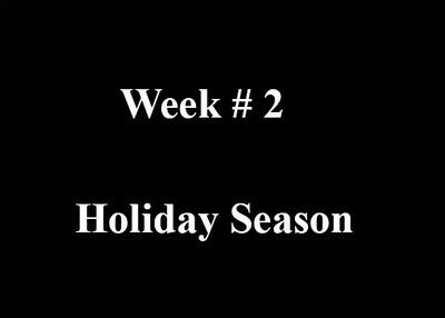 Week # 2