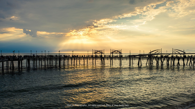 Week 2 - Redondo Beach Pier at Sunset