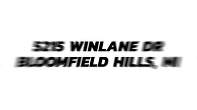 5215_Winlane_Dr_Bloomfield_Hil_MP4