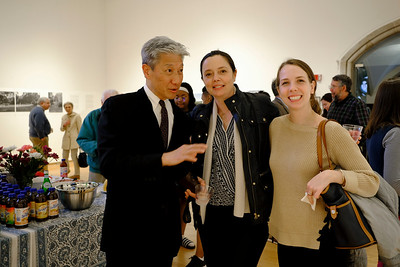 Opening of Yee-Fun Yin's  Whose Woods in the Mark W. Potter Gallery