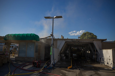 (5/25/18) Fairview Car Wash Fire