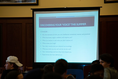 College Admissions Workshops