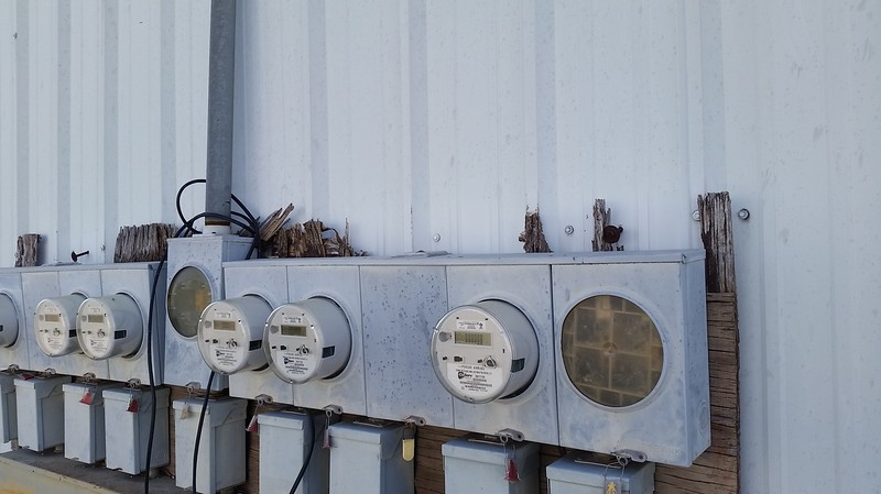 (Before) Northwest Development Electric Meter Support Panels Replaced