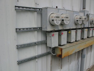 (After) Northwest Development Electric Meter Support Panels Replaced