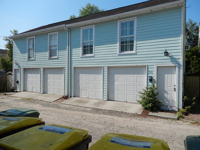 Both units garages (Carriage house had separate address 535)