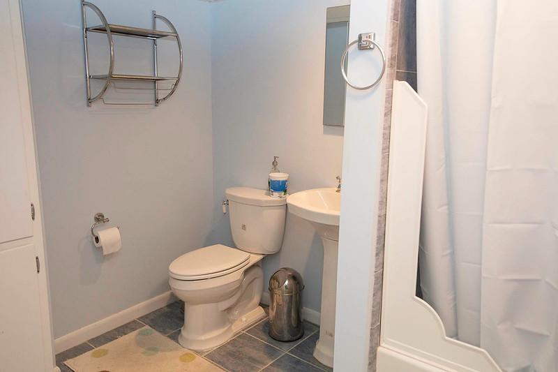 Basement bathroom 1