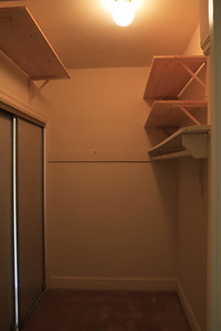 I'm gonna sublet this closet as an extra bedroom!  =)