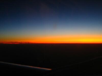Flight, Phoenix to Oakland