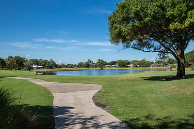 Bent Pint Stock Images - Clubhouse and Golf Course-1143