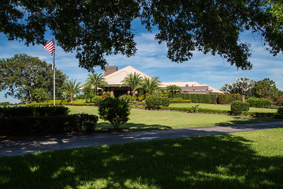 Bent Pint Stock Images - Clubhouse and Golf Course-1129