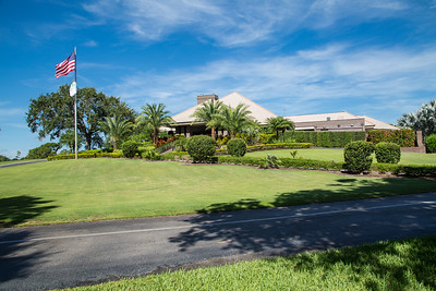 Bent Pint Stock Images - Clubhouse and Golf Course-1121