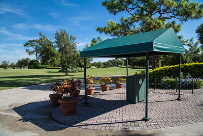 Bent Pint Stock Images - Clubhouse and Golf Course-1067
