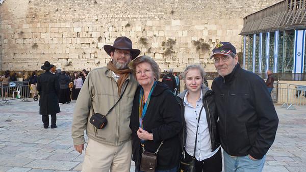 Eva-Marie in Israel