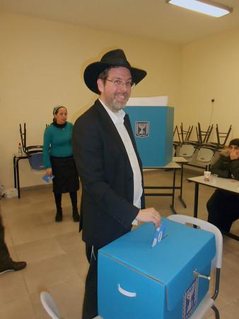 Israel Votes 5773 (2013)
