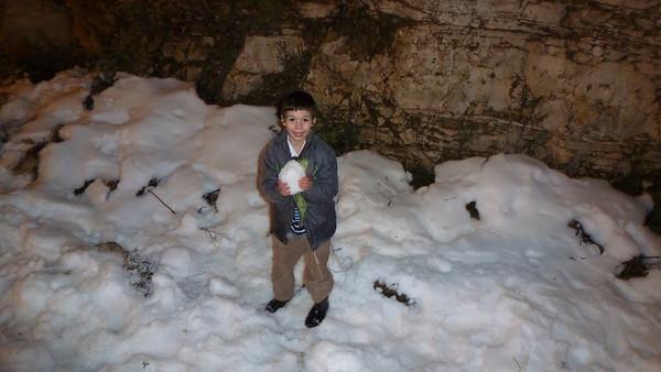 Snow in Israel  - Tevet 5774 (Dec 2013)