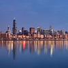 by Daniel Schwen  - Chicago sunrise