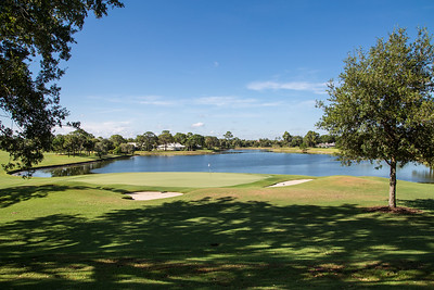 Bent Pint Stock Images - Clubhouse and Golf Course-1051