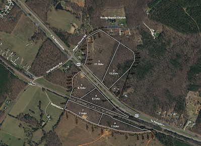 58 acres with 1 mile of road frontage
