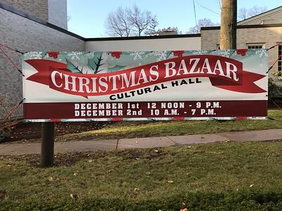 58th Annual Trinity Christmas Bazaar, Dec. 1 and 2, 2017