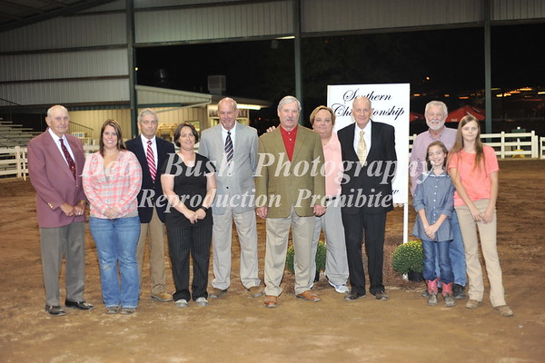 SHOW OFFICIALS & SPECIAL PRESENTATION TO JOEL BROOKSHIRE