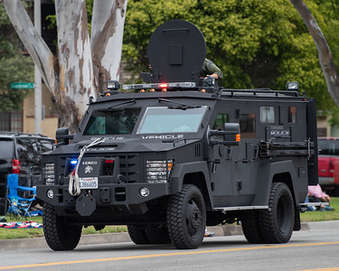 Torrance Police Rescue Vehicle