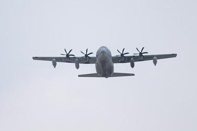 USMC C-130 Flyover
