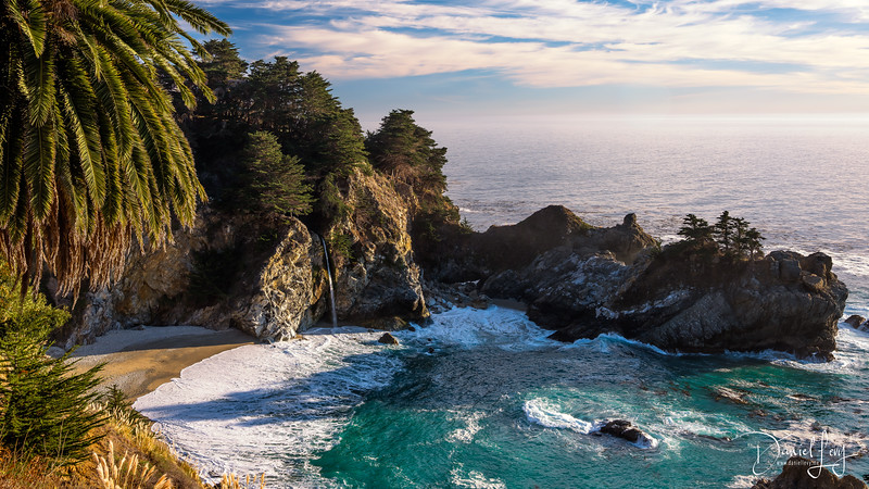 McWay Falls in Big Sur, CA - 5K Wallpaper