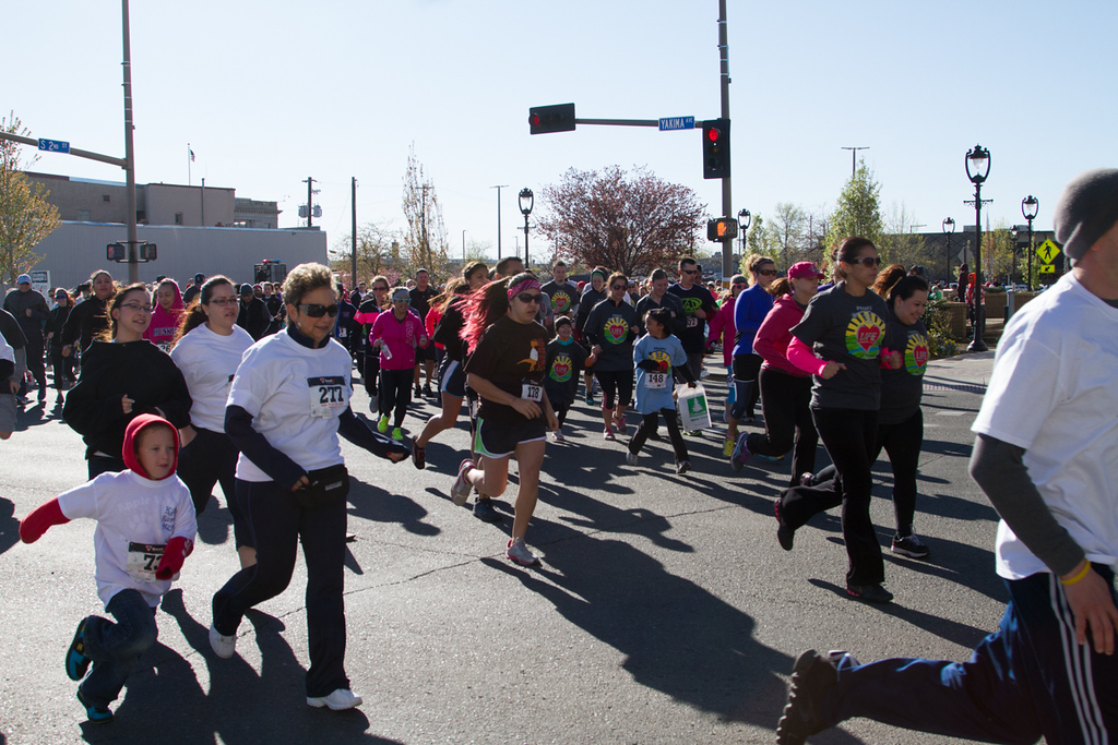 PNWU Run For Your Life 5K - 4/14/2013