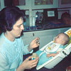 '74-Grandma Bev & Baby Christopher