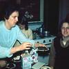 '74-04-Bev serving D J 's  cake