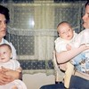 '74-Bev with Heather-Donna with Chris