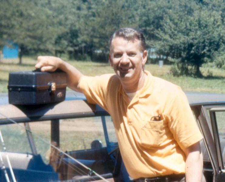 '70- Don (me)-Going fishing-Alleghany