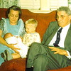 '56-Donna & Glenn with their Grandma & Grandpa