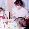 '66-Mary Jo, Bev, & back of Sue's face
