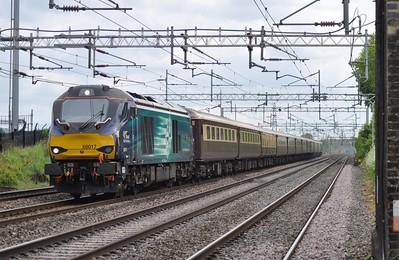 5Z29 Acton Lane - Crewe 68016+68017 22nd May 2016