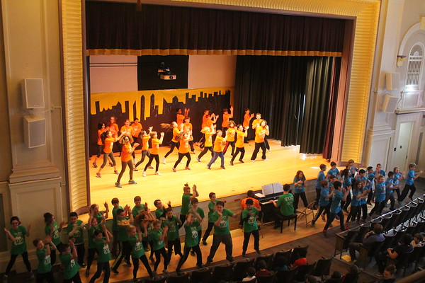 5th Grade Dance Residency at Malta Avenue Elementary School